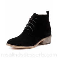 MOLLINI Women zanie black suede Lace-up closure MO10349-BLA-SU TVJBHHT