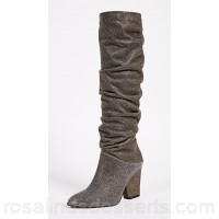 Stuart Weitzman Women Smashing Knee High Boots Pyrite Knee-high boots STUAR20910 DILIWLH