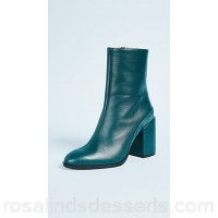 Dear Frances Women Spirit Booties Teal DFRAN30029 RLMJUNA