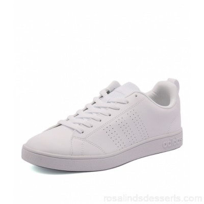 ADIDAS NEO Men advantage white white whi smooth Perforated 3-Stripes Pivot-point rubber cupsole AN10000-WED-SM MLKYUDX