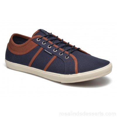 Jack & Jones JFW Ross Mens Sneakers Spring/Summer Navy Blazer 150481 QEWPYRE