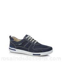 Men Chatham Marine - Blue leather 'Recoil' trainers Upper Leather Lining Leather textile JFQDPKU