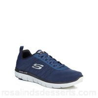 Men Skechers - Navy 'Flex Advantage 2.0' trainers Upper Textile Lining Textile AJWKVNI