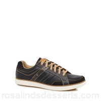 Men Skechers - Navy 'Lanson' trainers Upper Leather man made materials Lining Textile GQVICOG