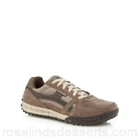 Men Skechers - Taupe 'Floater' trainers Upper Leather man made materials Lining Textile HDWINLF