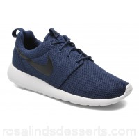Nike Nike Roshe One Mens Sneakers Spring/Summer Midnight Navy/Black-White 87814 PVWLPGZ