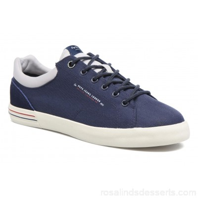 Pepe jeans North Nylon Mens Sneakers Spring/Summer Navy 151181 MFWNIFN