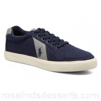 Polo Ralph Lauren Hugh Mens Sneakers Spring/Summer Navy Canvas 133624 JRGBKLX