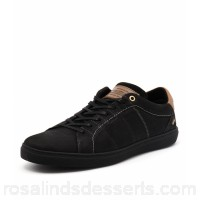 WILD RHINO Men tyrone black leather WR10041-BLA-LE MWLIAJA