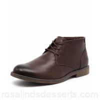 HUSH PUPPIES Men terminal brown burnished leather Lace-up front HP10066-BRO-07 TYOYGJC