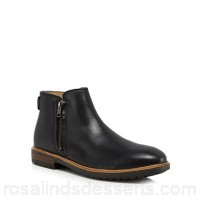 Men Ben Sherman - Black leather 'Jake' Chelsea boots Upper Leather Lining Leather / textile OIKULFN