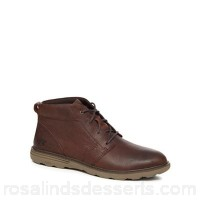 Men Caterpillar - Brown leather 'Trey' chukka boots Upper Leather Lining Textile USIUSNN