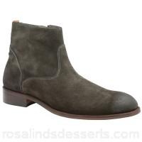 Men Frank Wright - Dark grey 'Hardin' men's slip on desert boots Fastening slip on Upper leather RXWYFIA