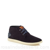 Men Original Penguin - Navy suede 'Love' chukka boots Upper Leather Lining Textile / leather NOMTDRX