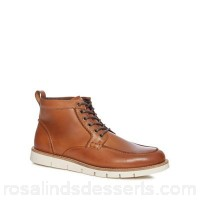 Men RJR.John Rocha - Tan leather 'Brecon Apron' chukka boots Upper Leather Lining Textile leather AJOCEHW