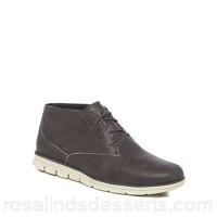 Men Timberland - Grey leather 'Bradstreet' chukka boots Upper Leather Lining Textile YSVRNFX