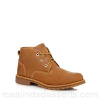 Men Timberland - Tan leather lace up boots Upper Leather Lining Textile FPCCBIP