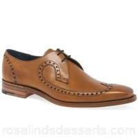 Men Barker - Tan 'Woody' Derby Mens Formal Brogues Fastening lace up Fit F fitting ATGZTFT