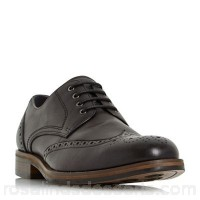 Men Bertie - Black 'Packman' eyelet chunky brogue Heel height 2.0cm/0.7 inches Fastening lace up STZKLWX