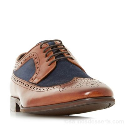 Men Bertie - Multicoloured 'Parady' american brogue shoes Heel height 2.0cm/0.7 inches Fastening Lace up NOPMJRJ