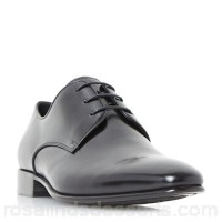 Men Dune - Black 'Patrol' classic gibson shoes Heel height 2.5 cm Fastening lace up YZFWRYU