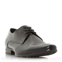 Men Dune - Black 'Pete' formal lace up gibson shoes Heel height 2.5 cm Fastening Lace up LMHJBOB