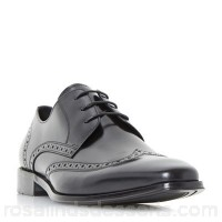 Men Dune - Black 'Wpembrook' wingtip gibson shoes Heel height 2.0cm/0.7 inches Fastening Lace up UQTVBFP
