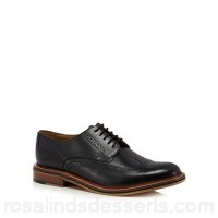 Men Hammond & Co. by Patrick Grant - Black leather 'Balham' brogues Upper Leather Lining Leather textile LTWEIAS