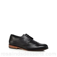 Men Lotus Since 1759 - Black leather 'Denford' brogues Lace fastening Upper Leather TVCNVCF
