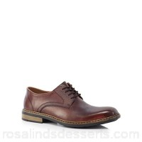 Men Rieker - Brown leather Derby shoes Upper Leather Lining Man made materials / leather IYLGDYN
