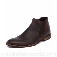 WILD RHINO Men drake dark brown leather WR10004-E25-LE JLCZKDR