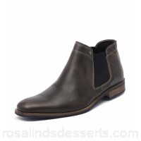 WILD RHINO Men drake dark grey leather WR10004-G21-LE NTWIMTK