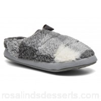 BEDROOM ATHLETICS Gibson Mens Slippers Fall/Winter Greywhite 141744 KVOWAGI