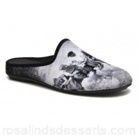 Rondinaud Gloire Mens Slippers Fall/Winter Gris 143160 DPDLUDS