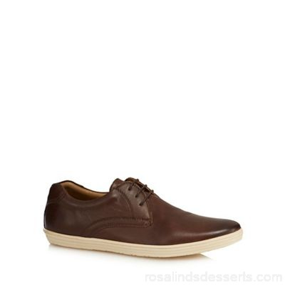Men Base London - Brown leather 'Concert' lace up shoes Upper leather Lining leather / textile SQBAQFE