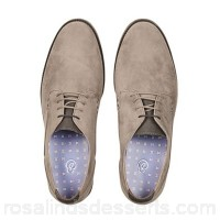 Men Burton - Grey suede look desert shoes 100% synthetic Do not wash YKLSUKA