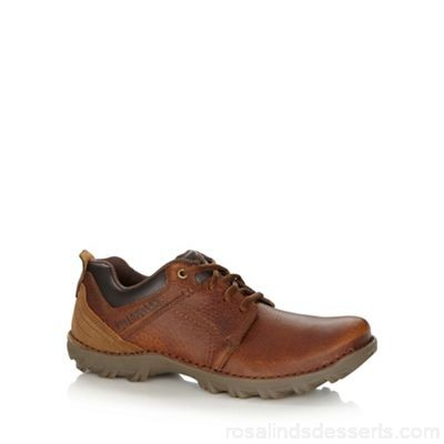 Men Caterpillar - Brown leather lace up shoes Upper Leather Lining Man made materials EEQBNEF