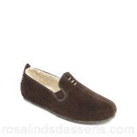 Men Clarks - Dark brown suede 'Kite Falcon' moccasins Upper Leather Lining Textile GHPEVPB