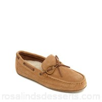 Men Clarks - Tan suede 'Crackling Glow' moccasins Upper Suede Lining Suede textile SSNZLTF