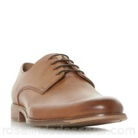 Men Dune - Tan 'Bodhi' smart Gibson shoes Heel height 2 cm Fastening lace up CTDOKSS