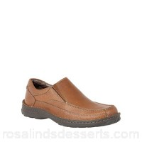 Men Lotus Since 1759 - Brown leather 'Mackinnon' loafers Fit Standard Upper leather DMMPWEC
