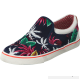 Buy Wrangler Icon Slip On Canvas Blue Tropical Red Shoes Online CM8USQTZRF