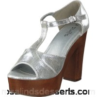 Buy Duffy 97-99134 Silver Brown Shoes Online 54236-00