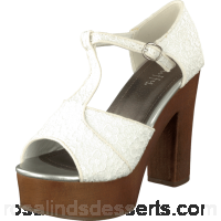 Buy Duffy 97-59134 White Brown Shoes Online 49095-00