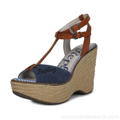 Buy Replay Lolie Blue Shoes Online 20045-00