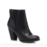 Women Call It Spring - Black 'Pydia' high block heel ankle boots Heel height 7cm/2 inches Upper Man made materials FMYCJVL