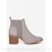 Women Dorothy Perkins - Grey 'montana' ankle boots 100% polyester Machine washable PWQVLNC