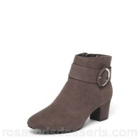 Women Dorothy Perkins - Wide fit grey 'ace' ankle boots Main 100% fabric Lining 100% fabric TJANQBH
