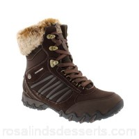Women Mephisto - Brown Leather 'Nomea Tex' ankle boots Fastening zip Upper leather HLAHWIJ