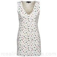 American Retro CAROLYN White - Short Dresses Women 732643